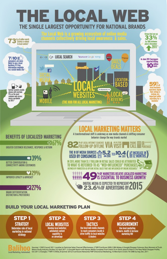 Local Website Infographic